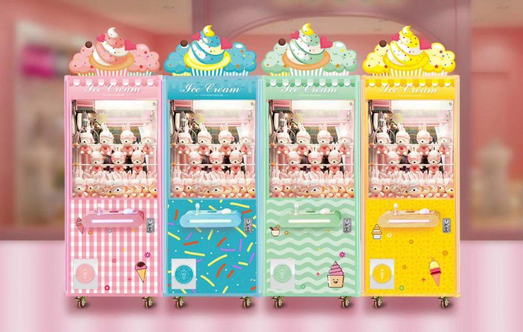 Ice cream series claw crane game machine