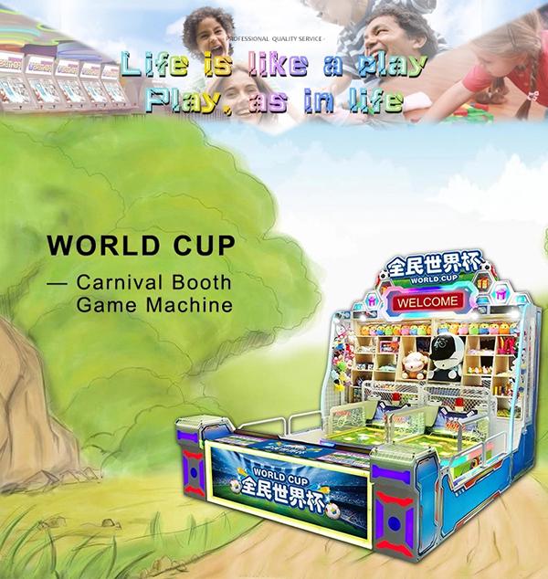 World cup arcade game machine