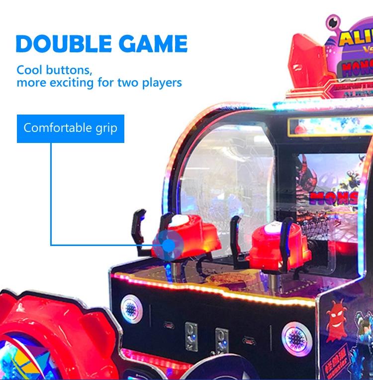 Monsters vs Aiens game machine
