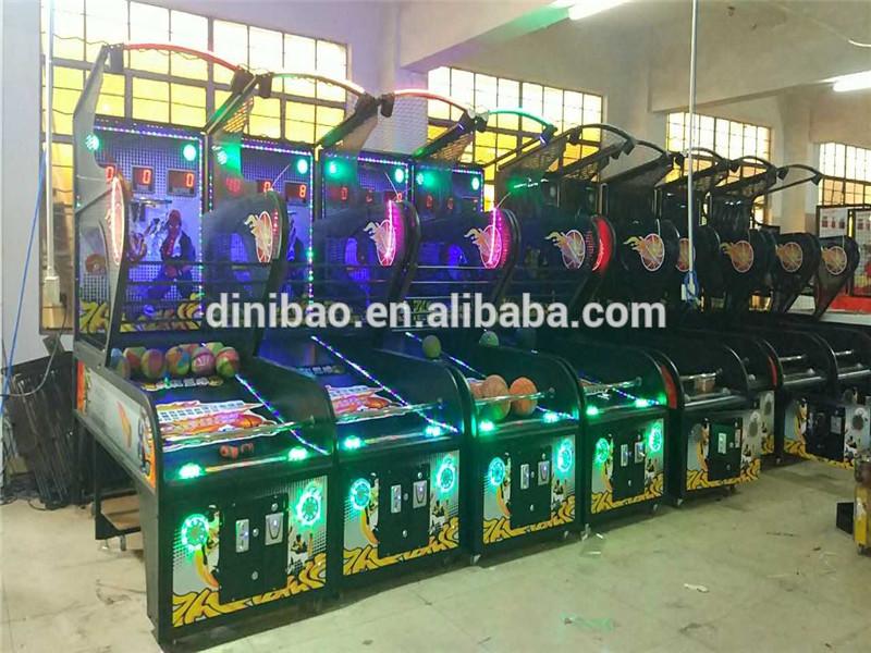 luxury indoor basketball machine