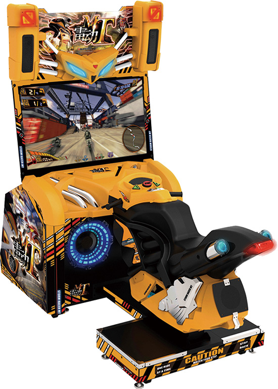 Simulator MT storm racer motor arcade driving games machine