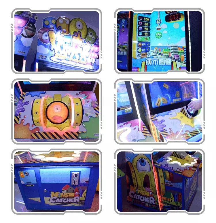 Monster Catcher Arcade Redemption Game Machine