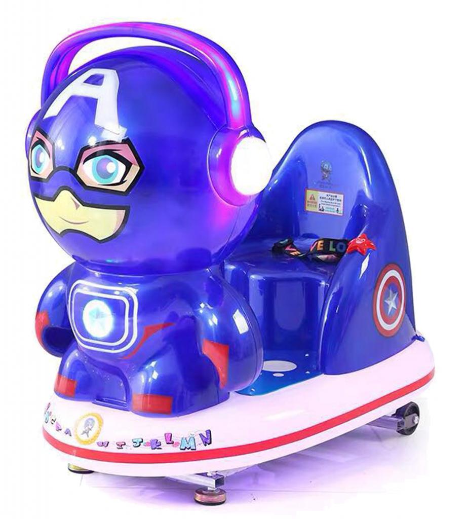 Marvel Alliance kiddie ride game machine