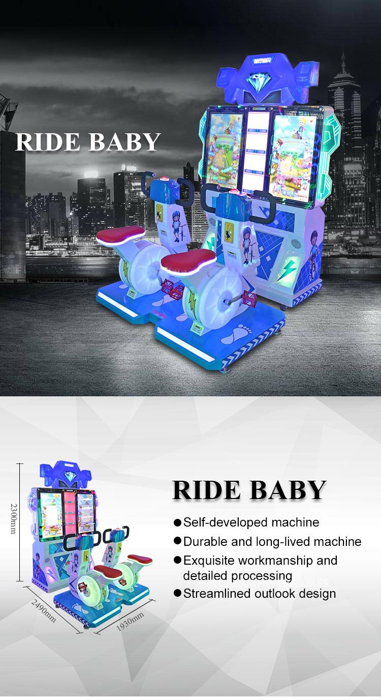 Ride Baby Kids Bike Game Machine